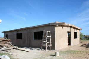 Casa en construccion | Haus im Bau